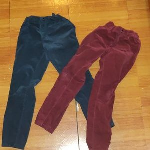 Velour children's place pants